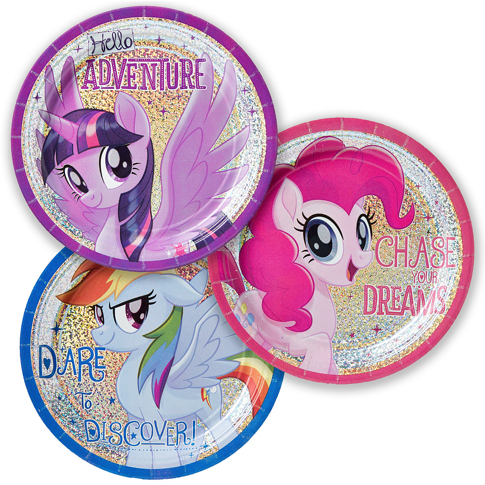 My Little Pony Tableware Party Kit for 24 Guests Image #2