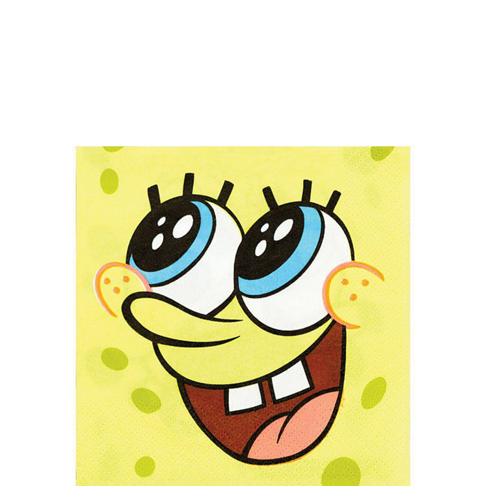 SpongeBob Tableware Party Kit for 16 Guests Image #6