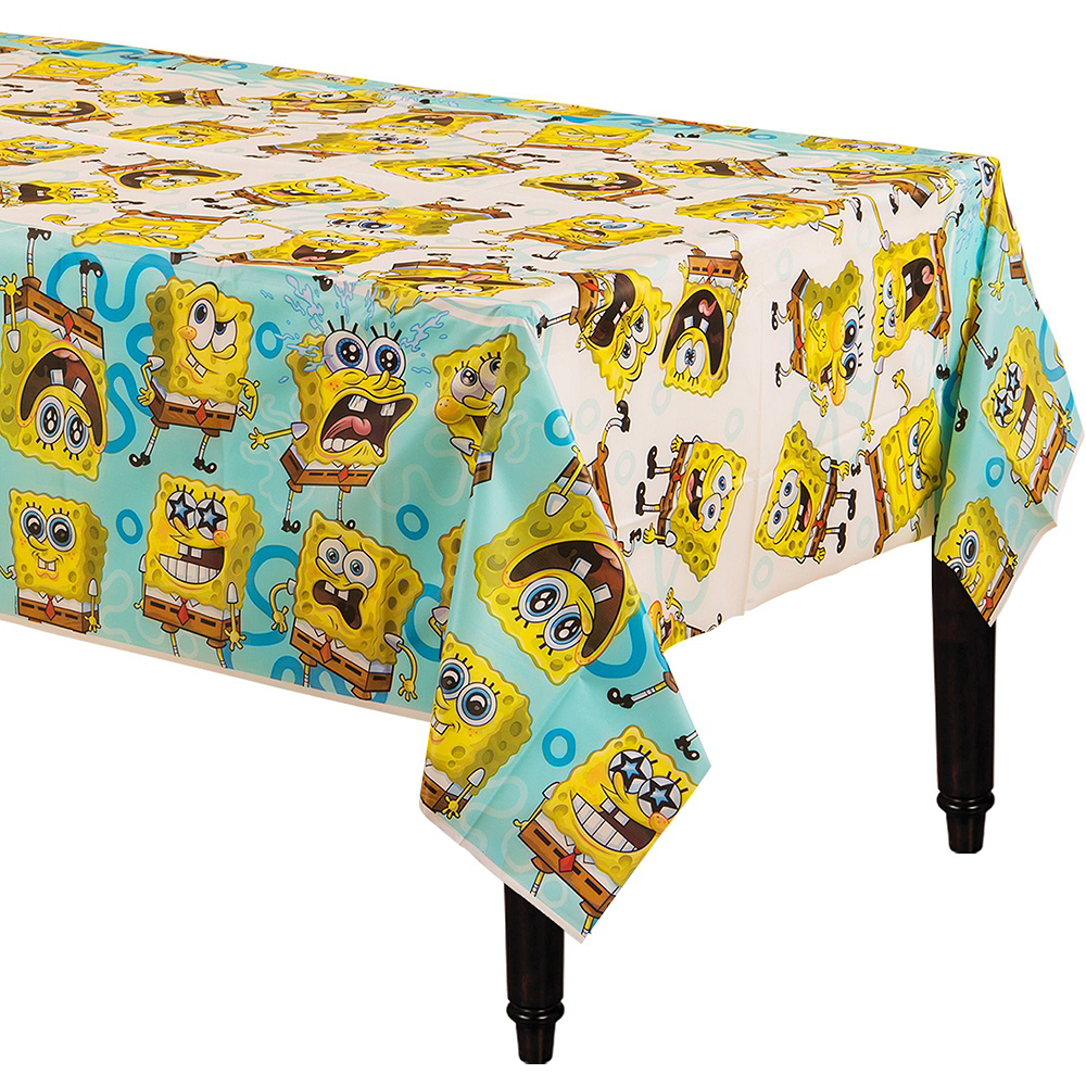 SpongeBob Tableware Party Kit for 16 Guests Image #8