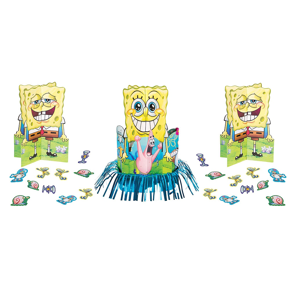 SpongeBob Tableware Party Kit for 16 Guests Image #9
