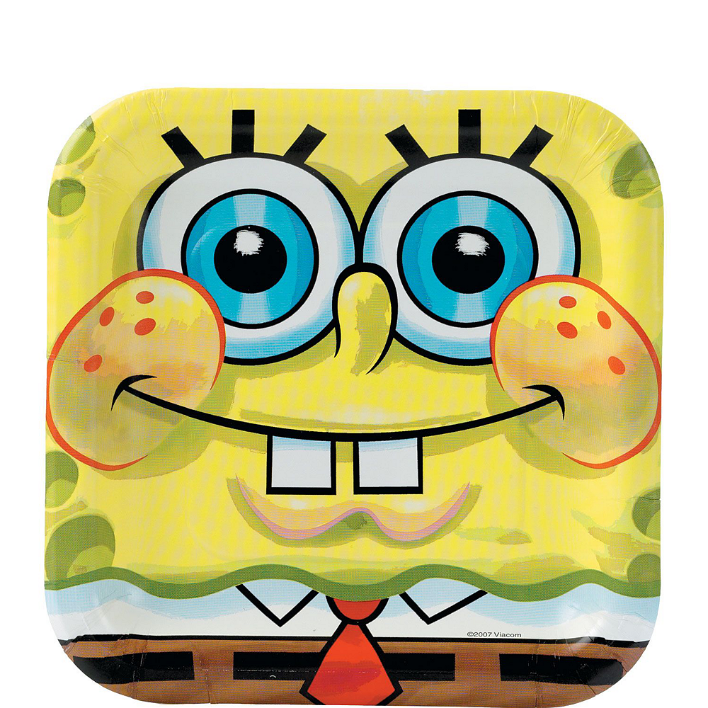 SpongeBob Tableware Party Kit for 24 Guests Image #4