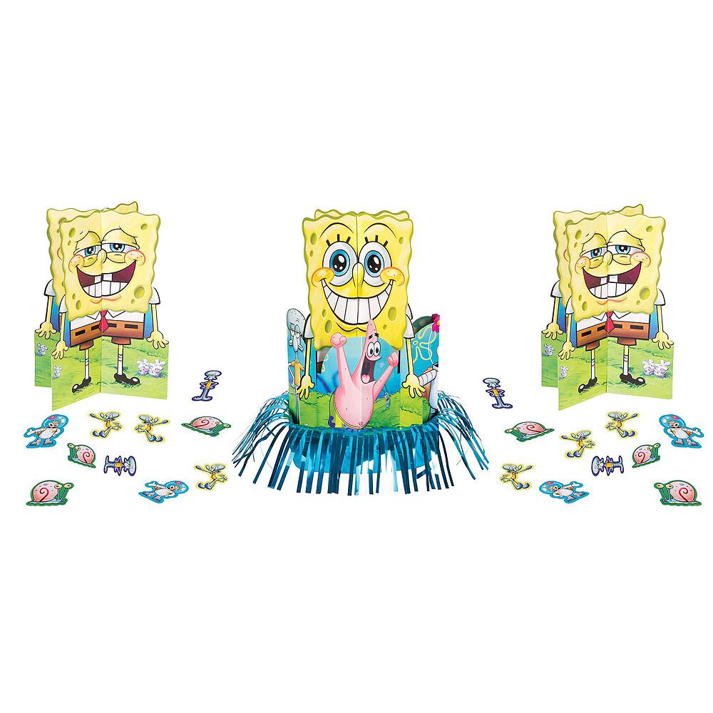 SpongeBob Tableware Party Kit for 24 Guests Image #9