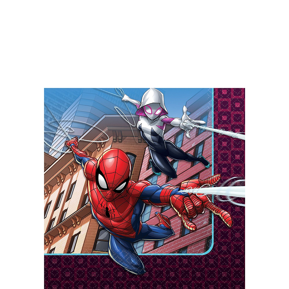 Ultimate Spider-Man Tableware Party Kit for 16 Guests Image #4