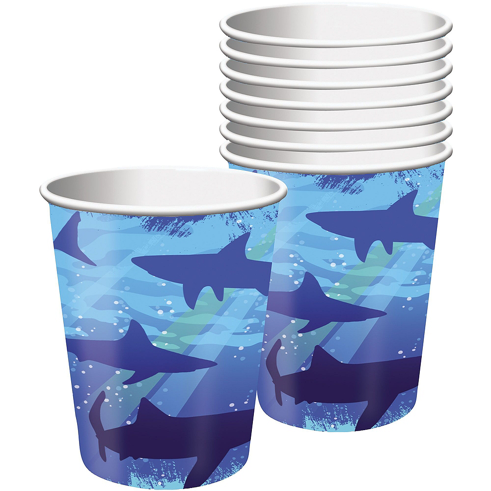 Shark Tableware Party Kit for 8 Guests Image #6