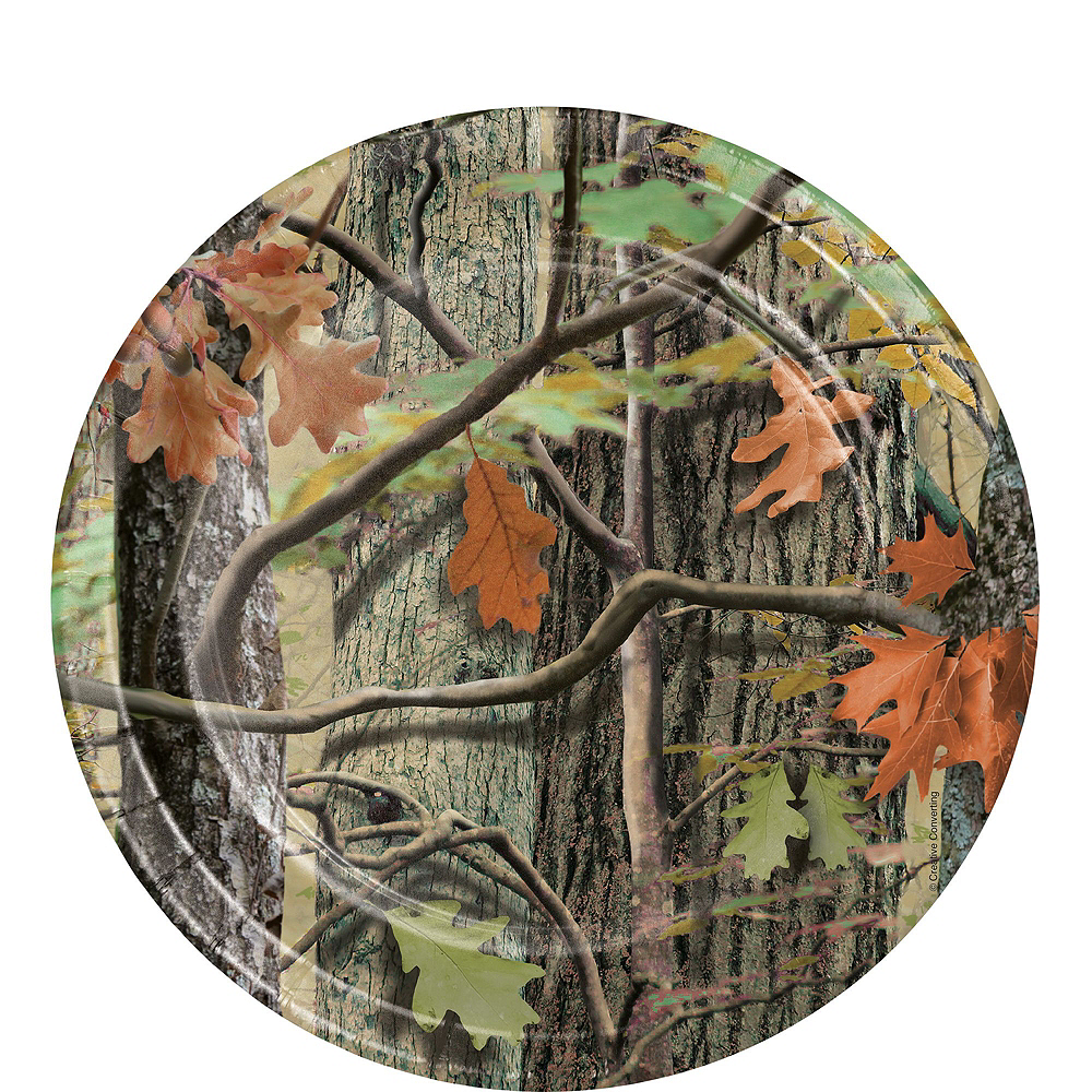 Hunting Camo Tableware Party Kit for 8 Guests Image #2