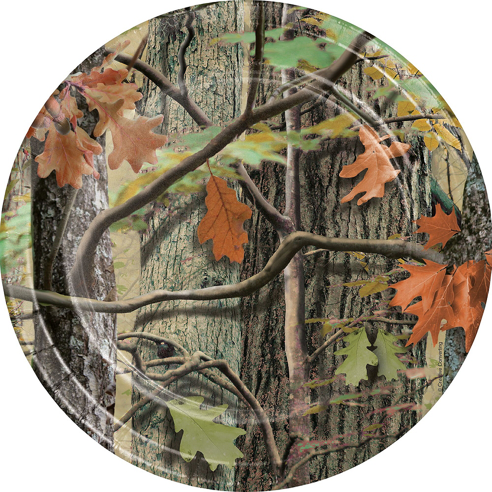Hunting Camo Tableware Party Kit for 8 Guests Image #3