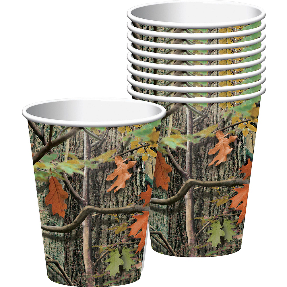 Hunting Camo Tableware Party Kit for 8 Guests Image #6