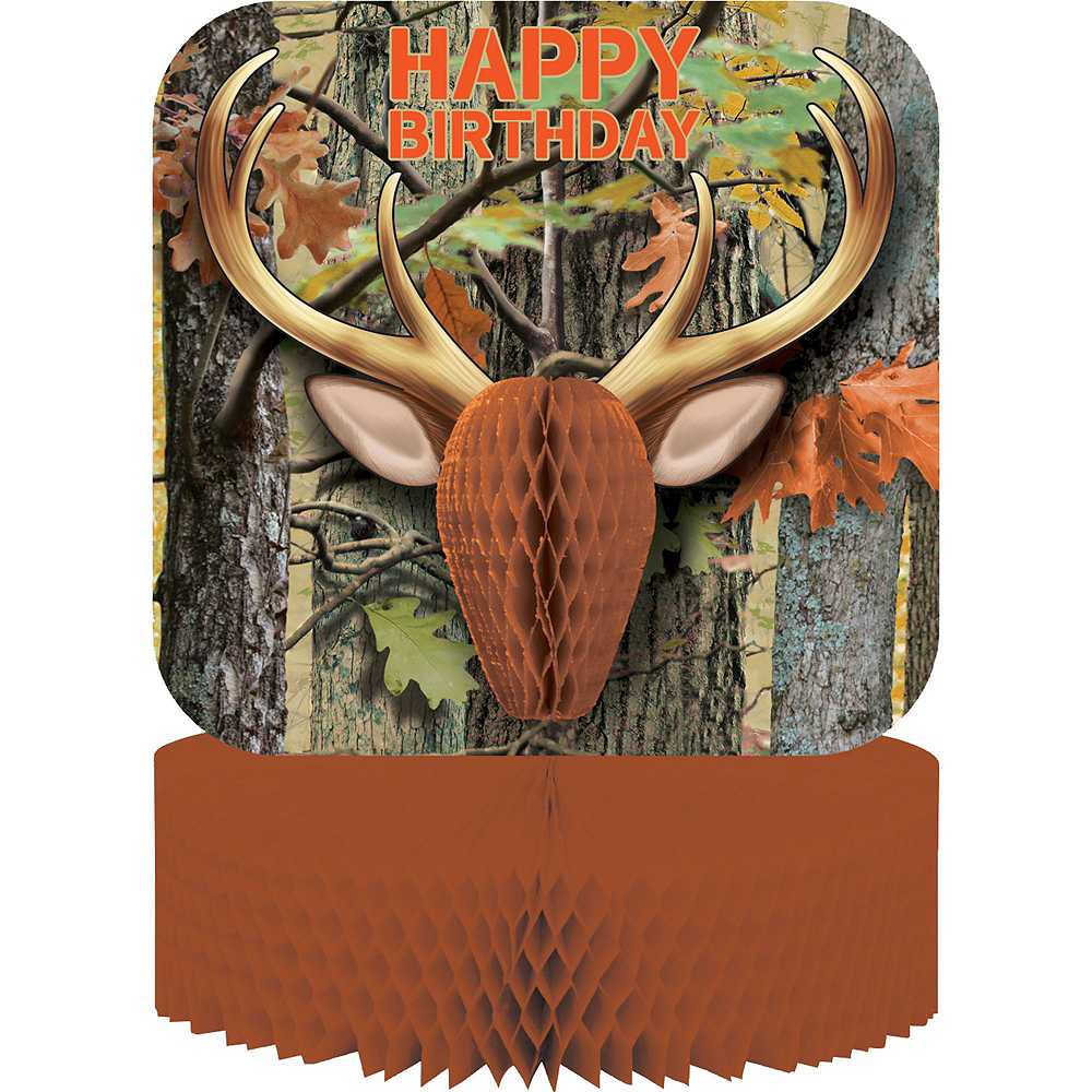 Hunting Camo Tableware Party Kit for 16 Guests Image #9