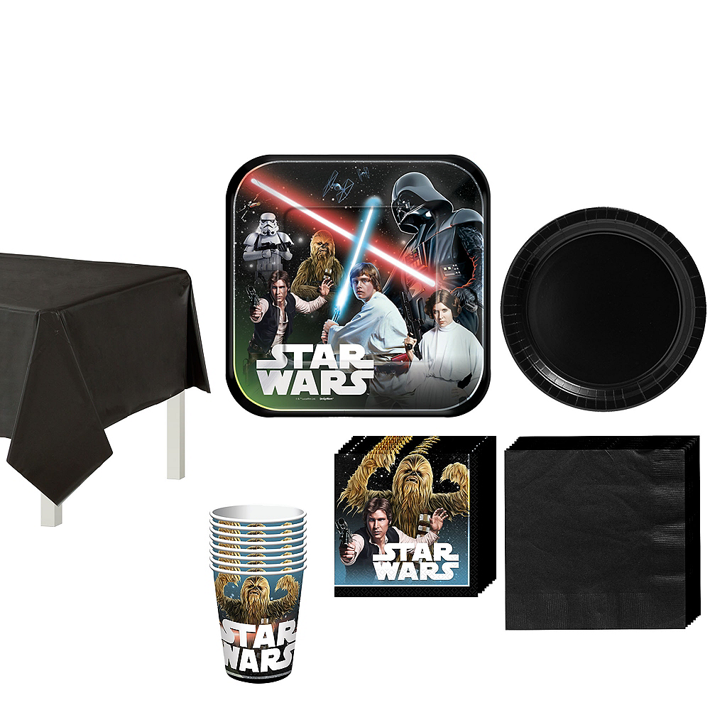 Star Wars Tableware Party Kit for 8 Guests Image #1