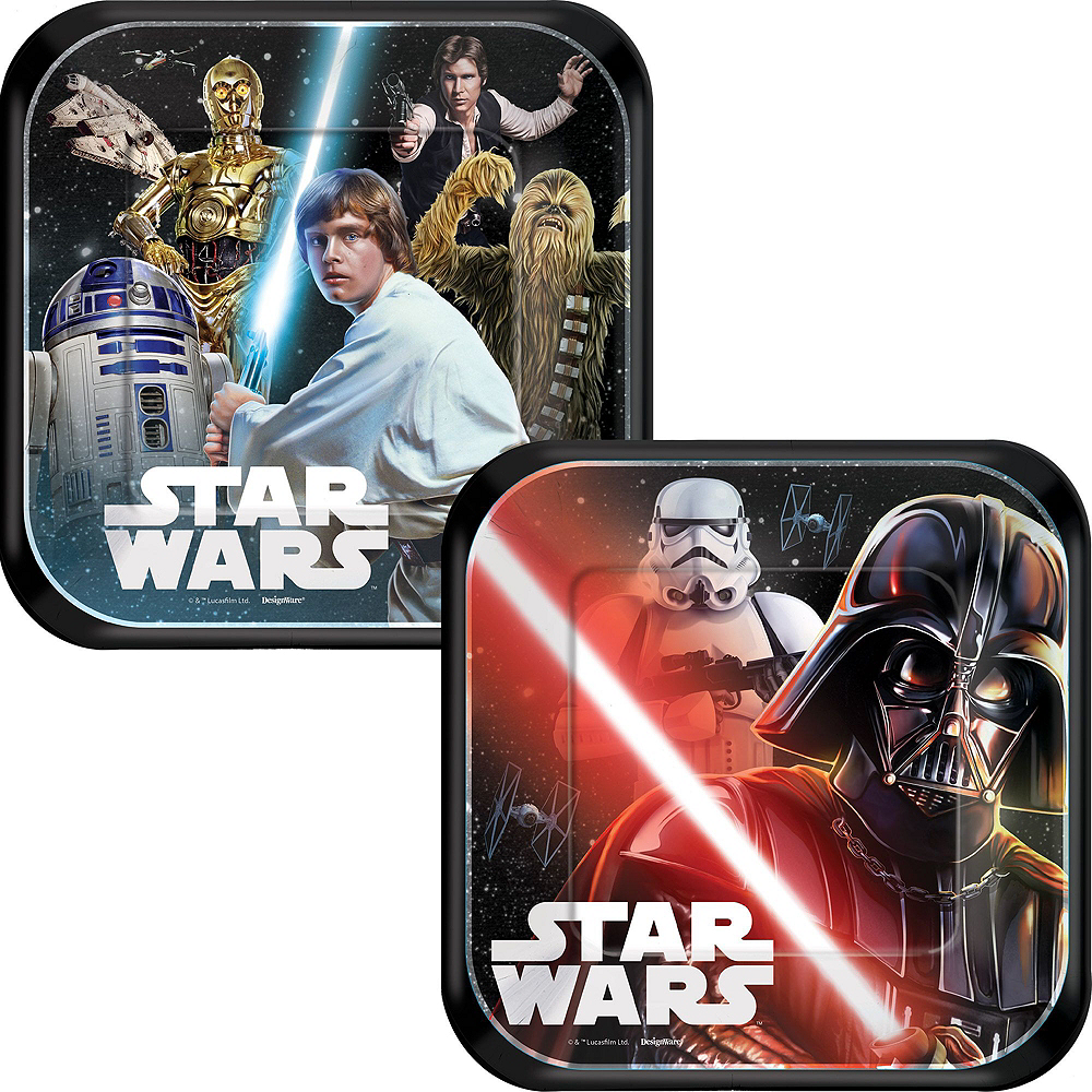 Star Wars Tableware Party Kit for 16 Guests Image #2