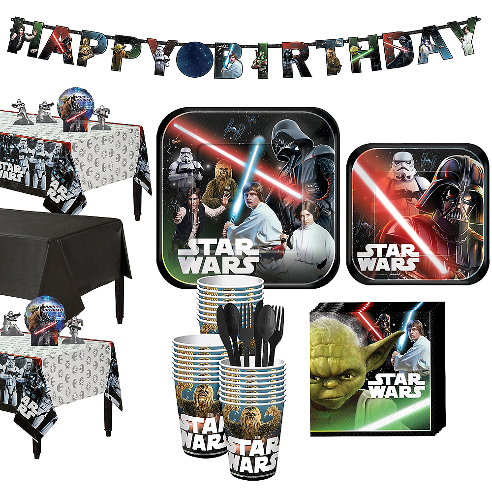 Star Wars Tableware Party Kit for 24 Guests Image #1