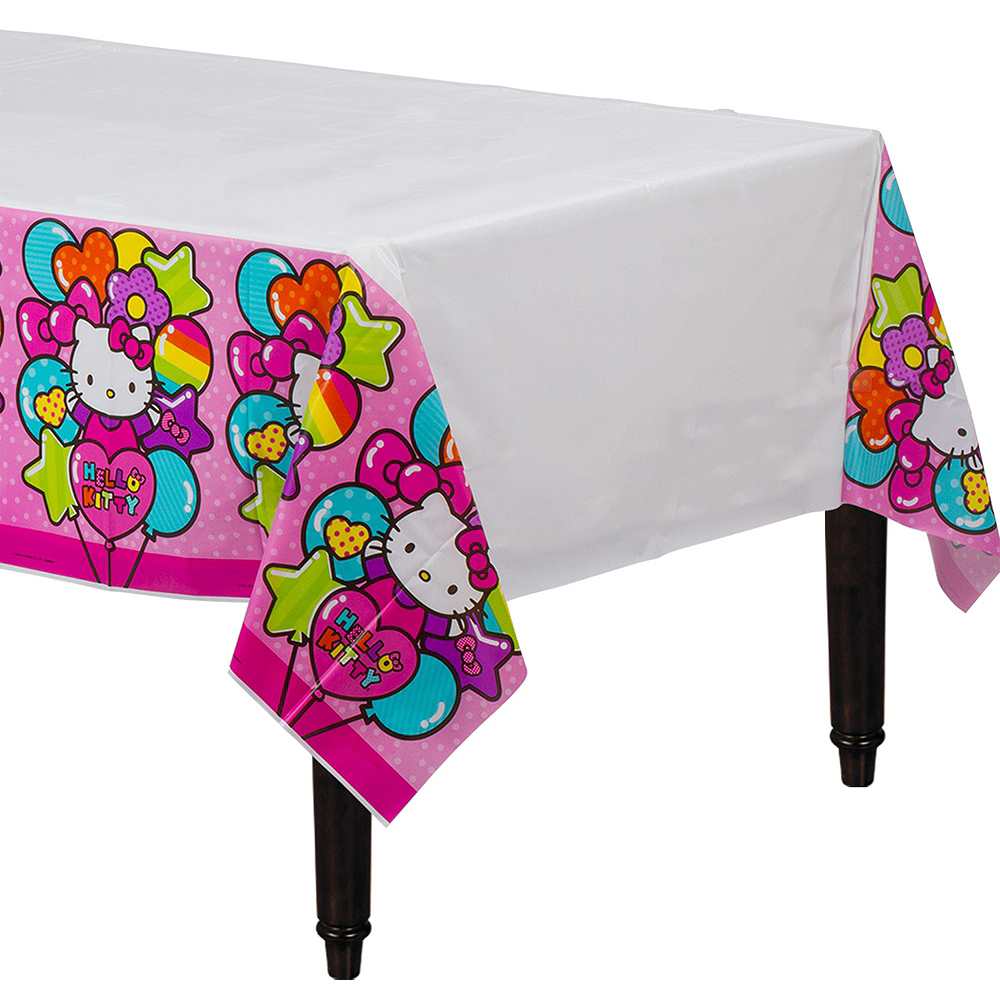 Rainbow Hello Kitty Tableware Ultimate Kit for 16 Guests Image #7