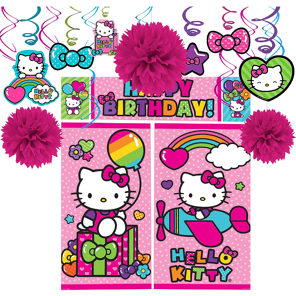 025a06b43 Nav Item for Rainbow Hello Kitty Decorating Kit Image #1 ...