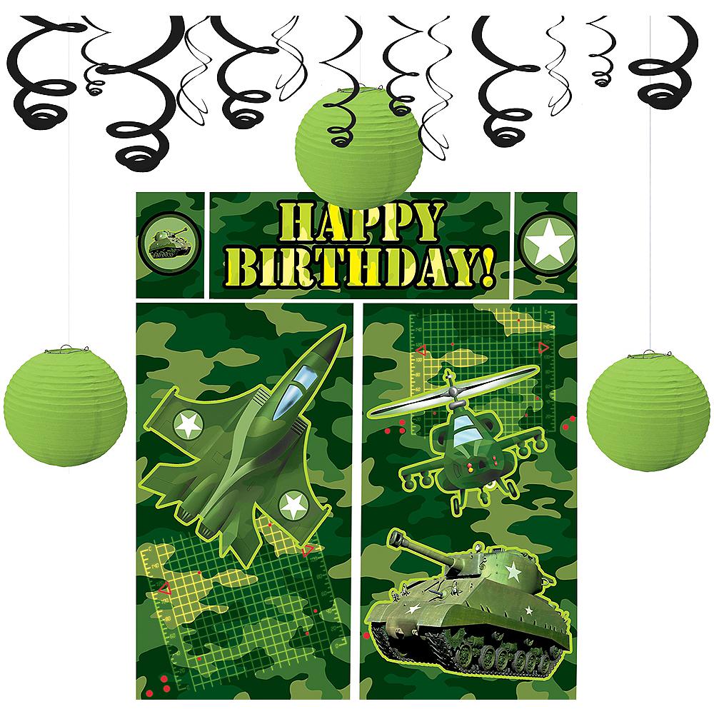 Camouflage Decorating Kit Image #1