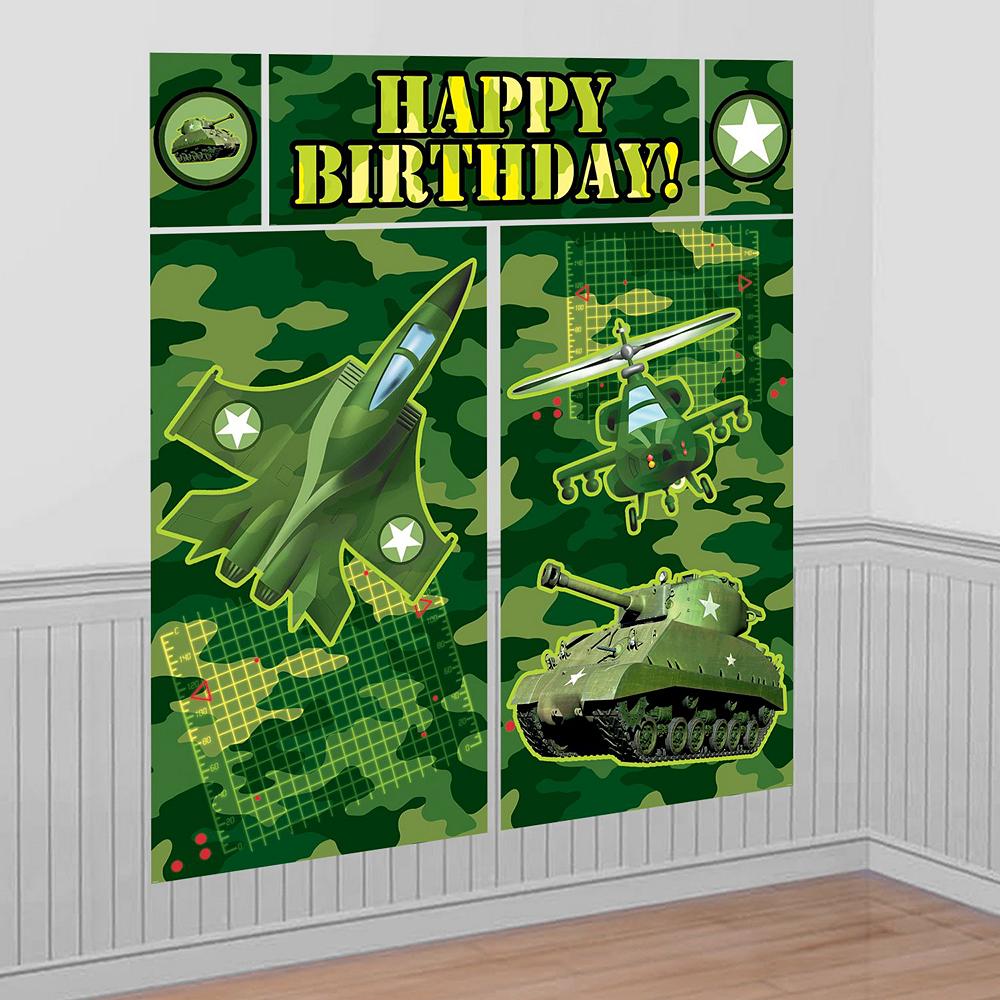 Camouflage Decorating Kit Image #3