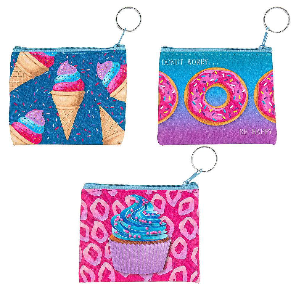 Foodie Coin Purse Keychain Image #1