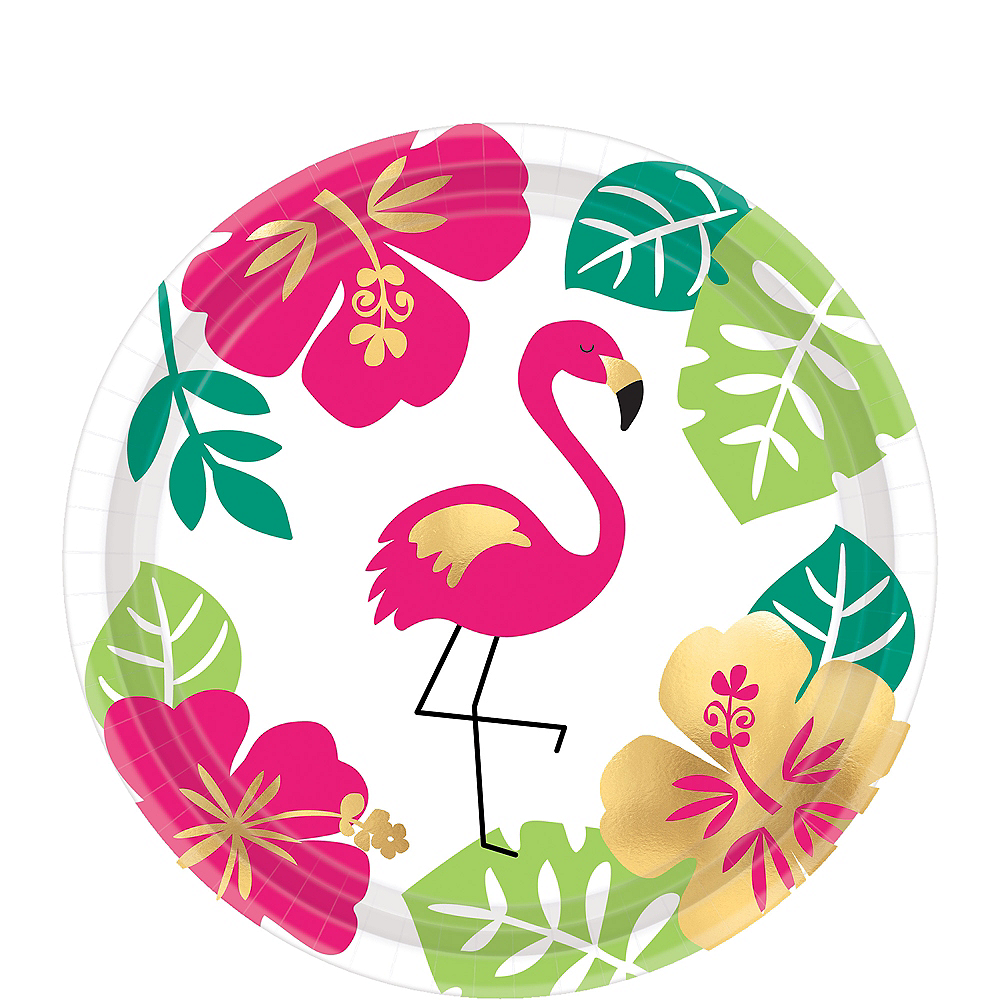 CLEARANCE  Pink Flamingo Party Paper Lunch Napkins x 16