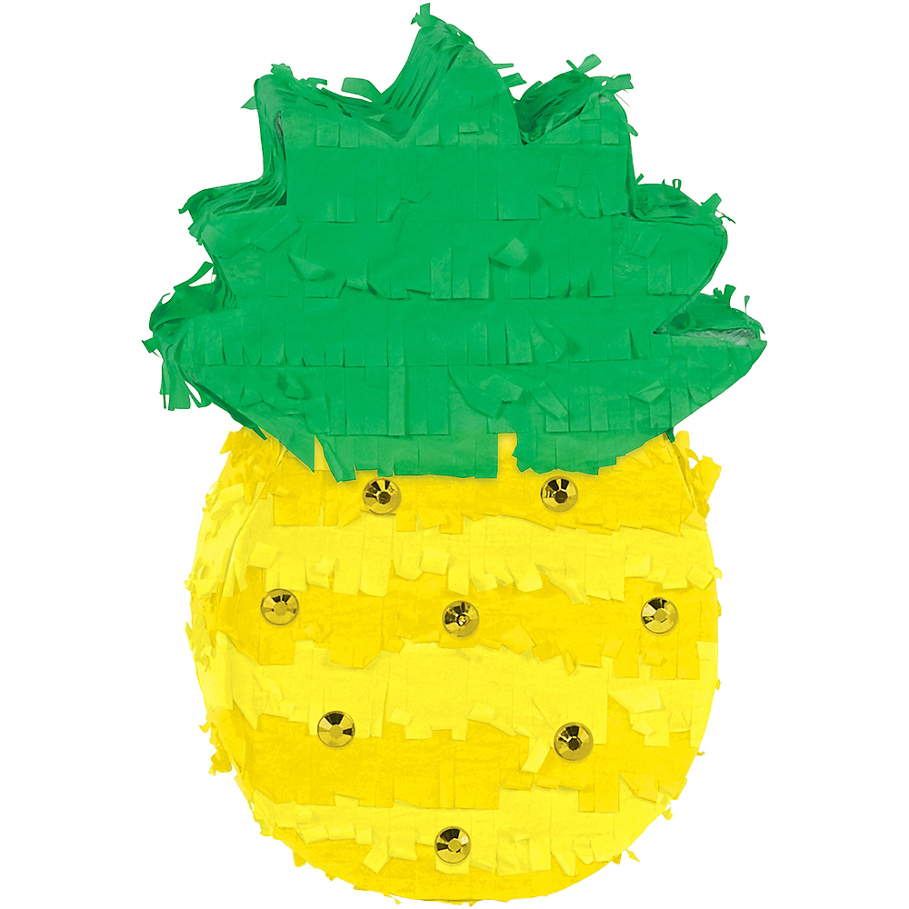 Pineapple Pinata Decoration 5in x 7in | Party City
