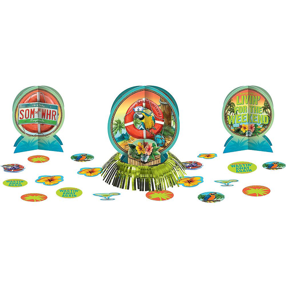HAWAIIAN LUAU Margaritaville TABLE DECORATING KIT ~ Birthday Party Supplies