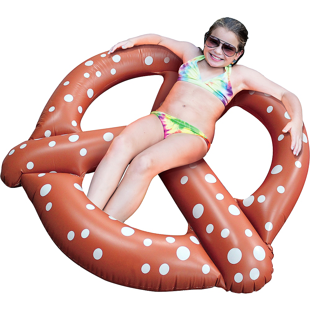 Giant Pretzel Pool Float Image #2