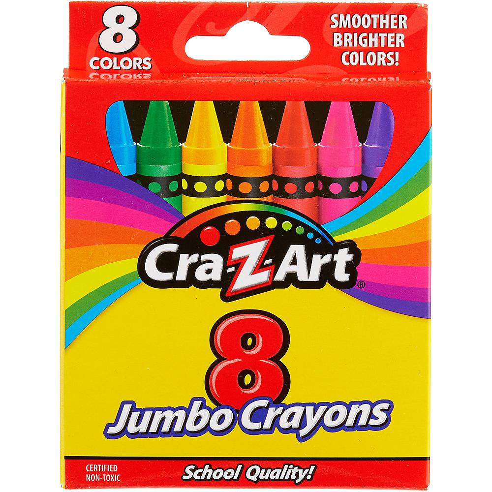 Cra-Z-Art Jumbo Crayons 8ct Image #1
