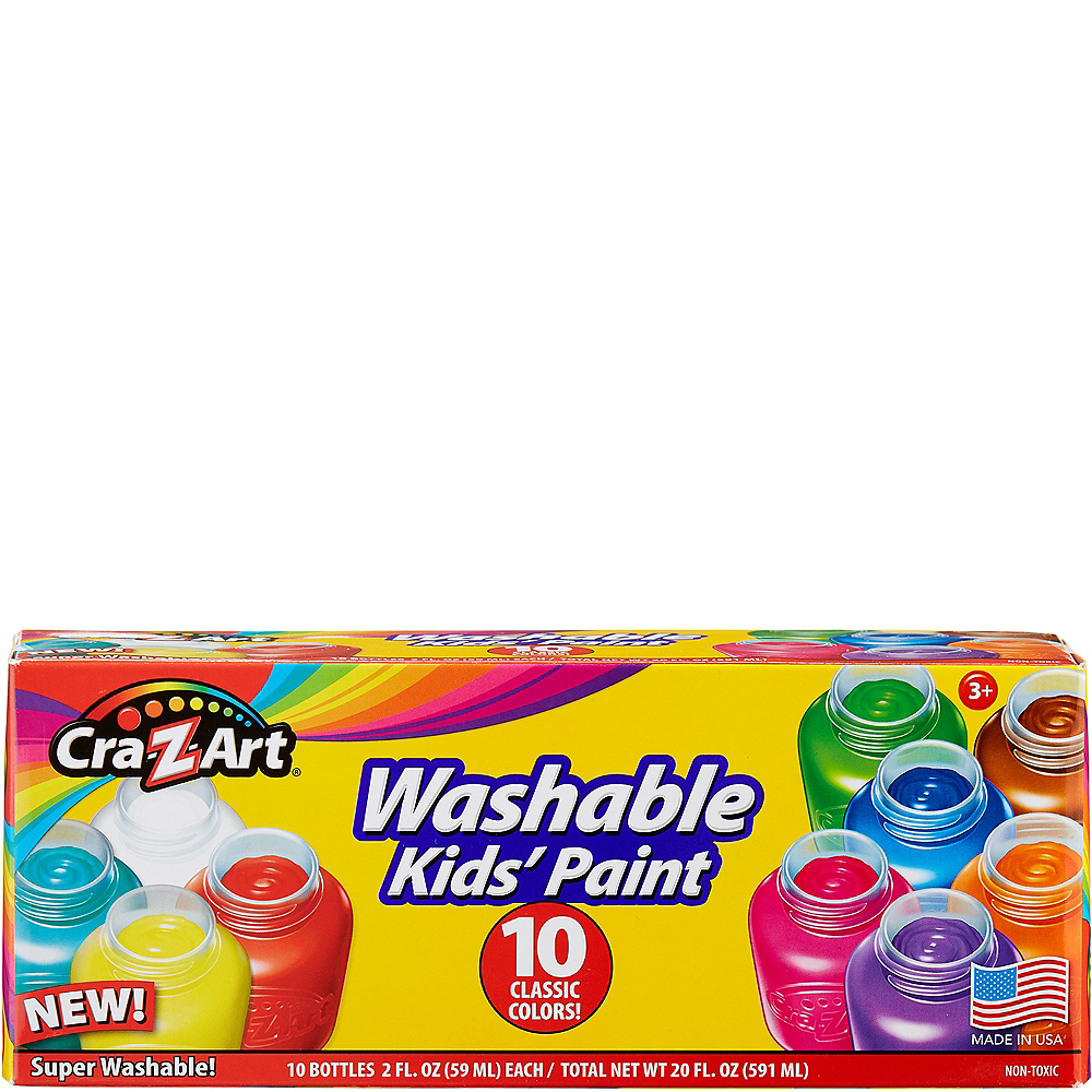 Cra-Z-Art Washable Kids Paint 10ct Image #1