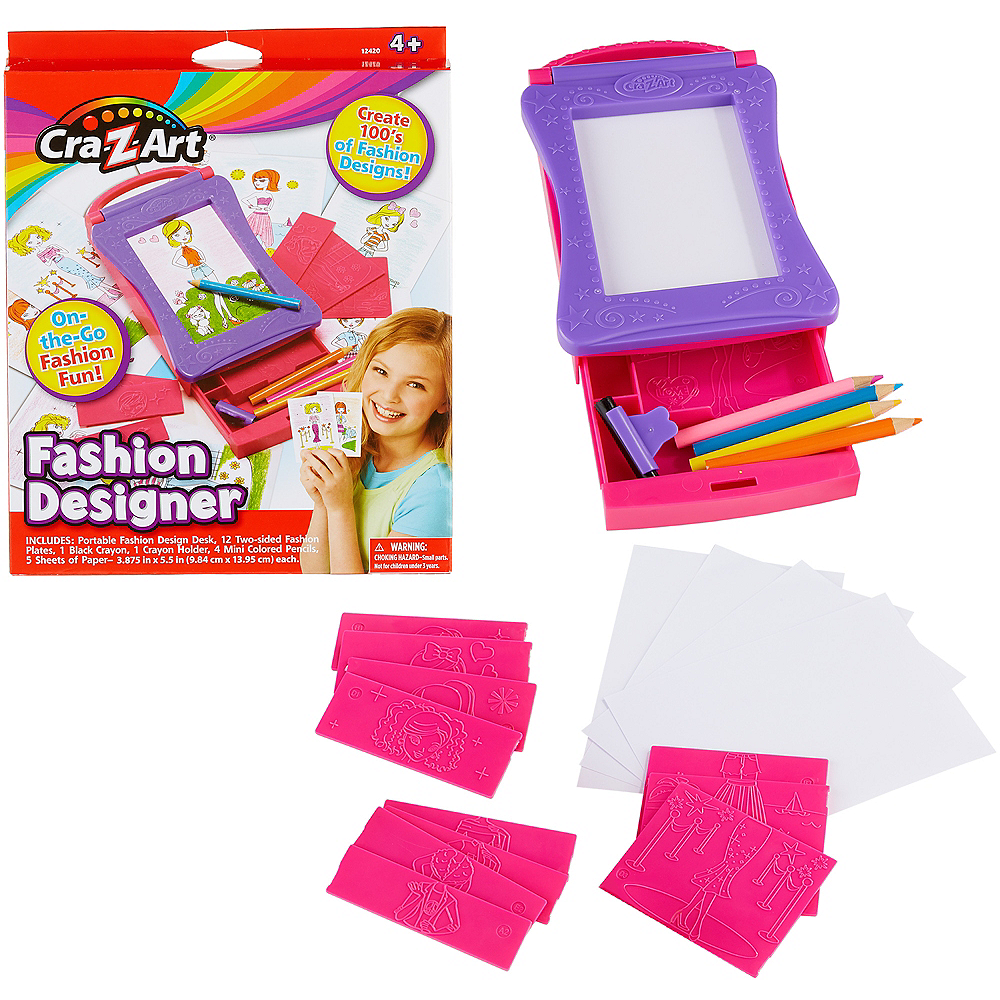 Cra-Z-Art Fashion Designer Kit 25pc Image #1