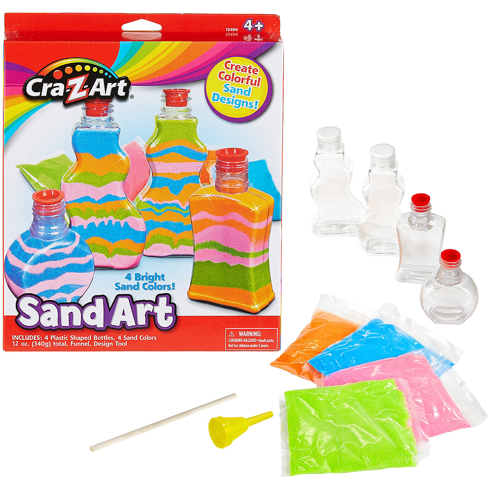 cra z art sand art craft kit 11pc party city