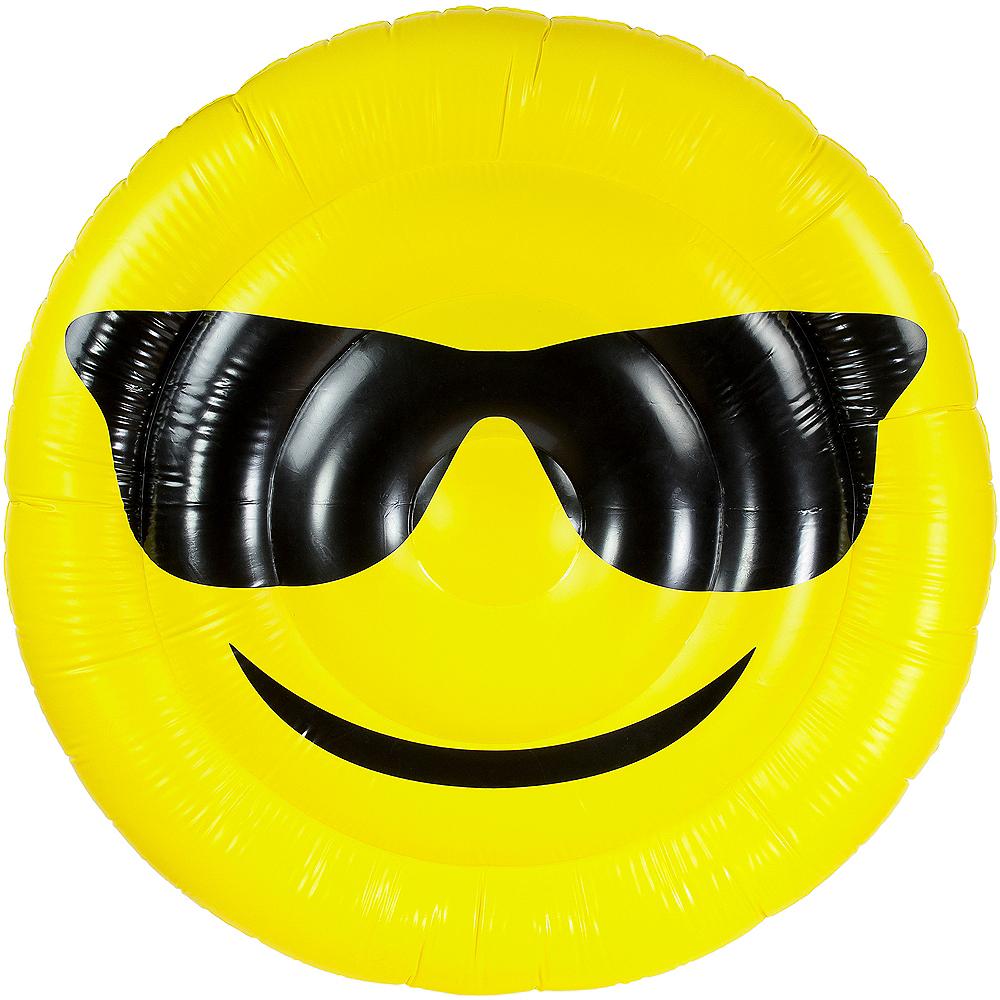 Giant Sunglasses Smiley Pool Float Image #2