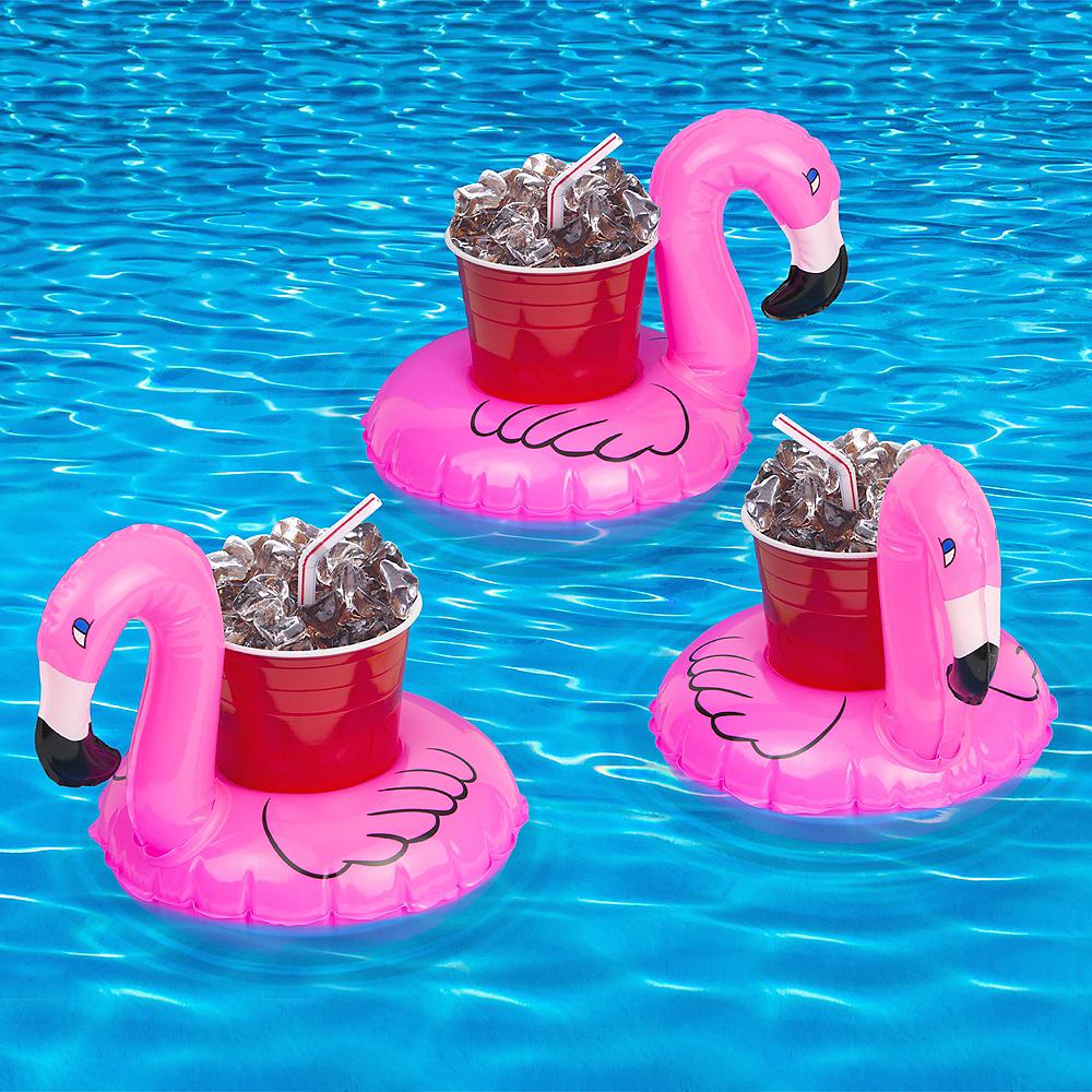 Flamingo Drink Floats 3ct Image #2