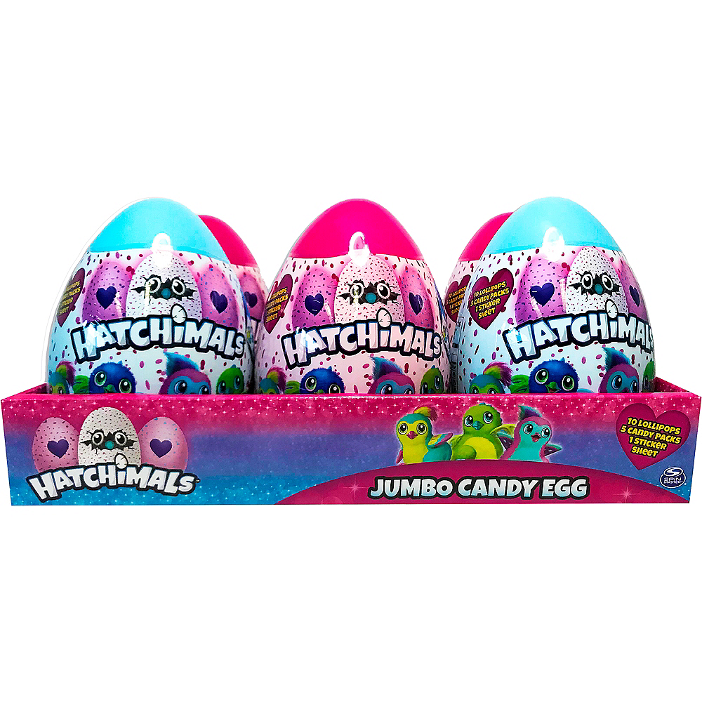 Hatchimals Jumbo Egg with Candy & Stickers Image #1