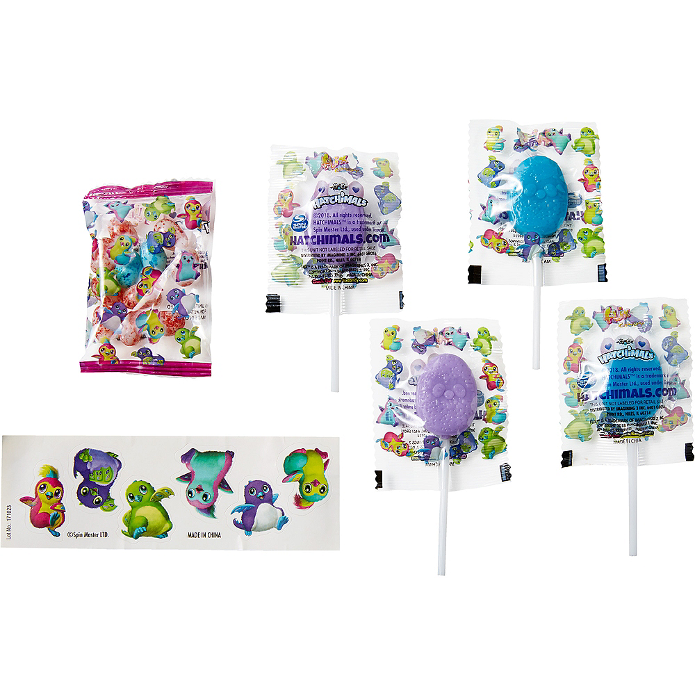 Hatchimals Jumbo Egg with Candy & Stickers Image #2