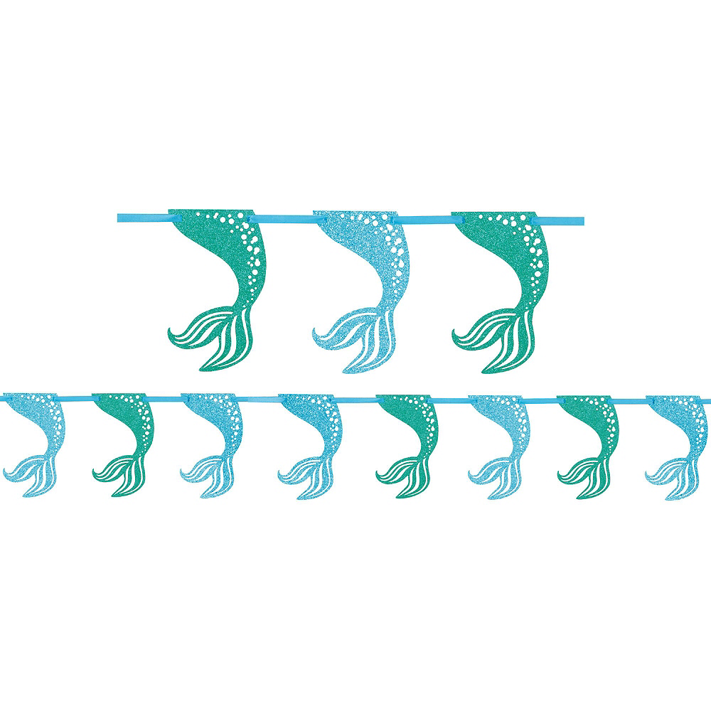 Mermaid Tableware Party Kit for 8 Guests Image #10