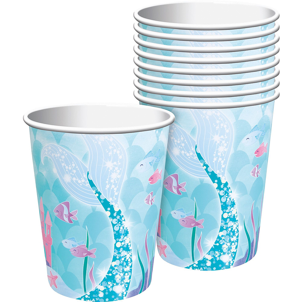 Mermaid Tableware Party Kit for 16 Guests Image #6