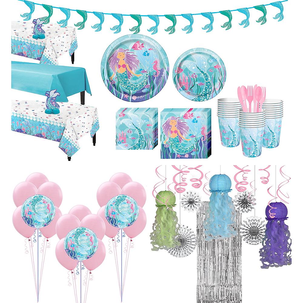 Mermaid Tableware Ultimate Kit for 24 Guests Image #1