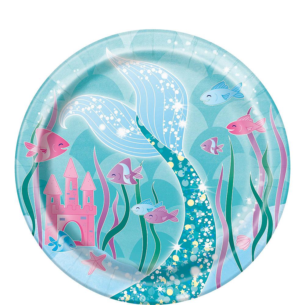 Mermaid Tableware Ultimate Kit for 24 Guests Image #2