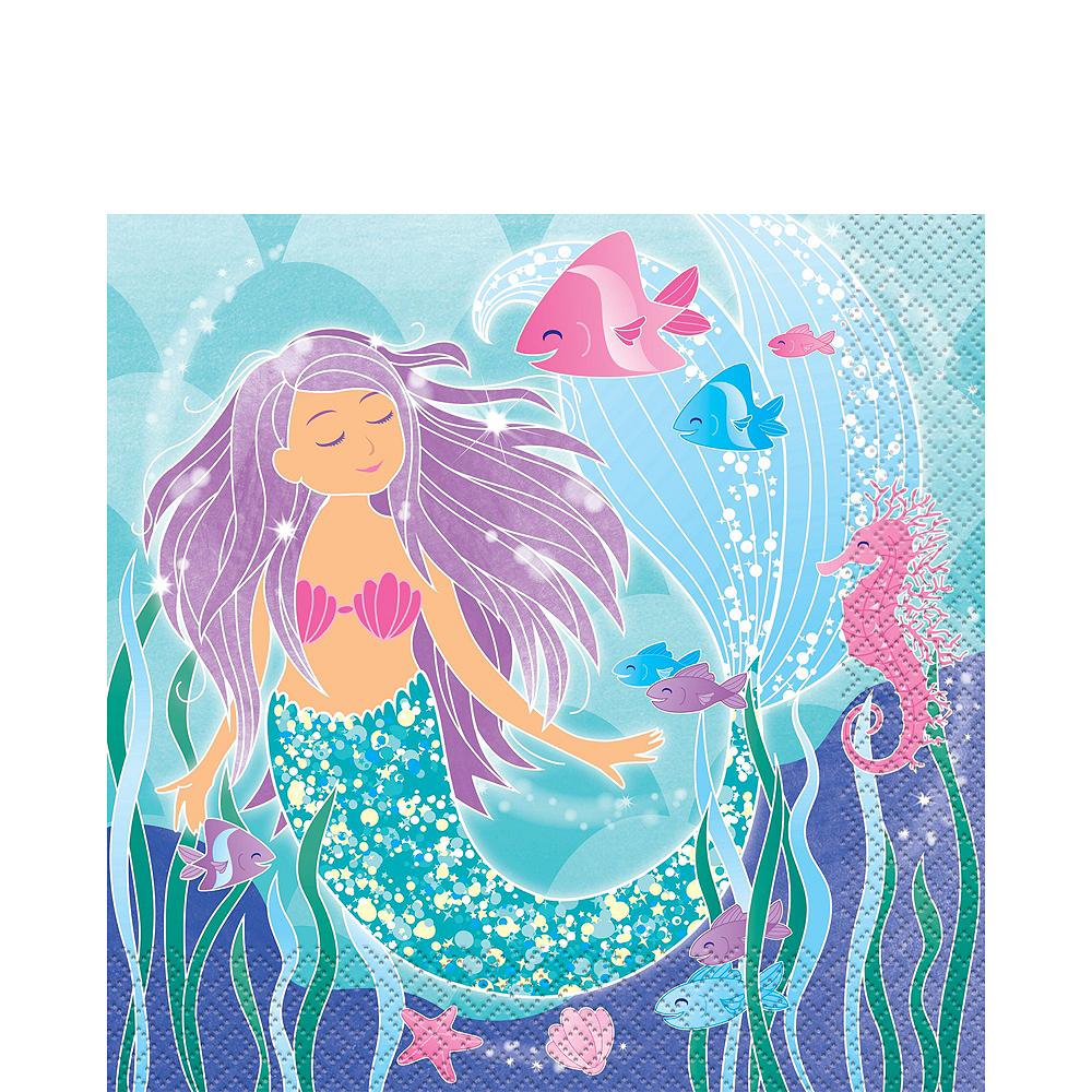Mermaid Tableware Ultimate Kit for 24 Guests Image #5