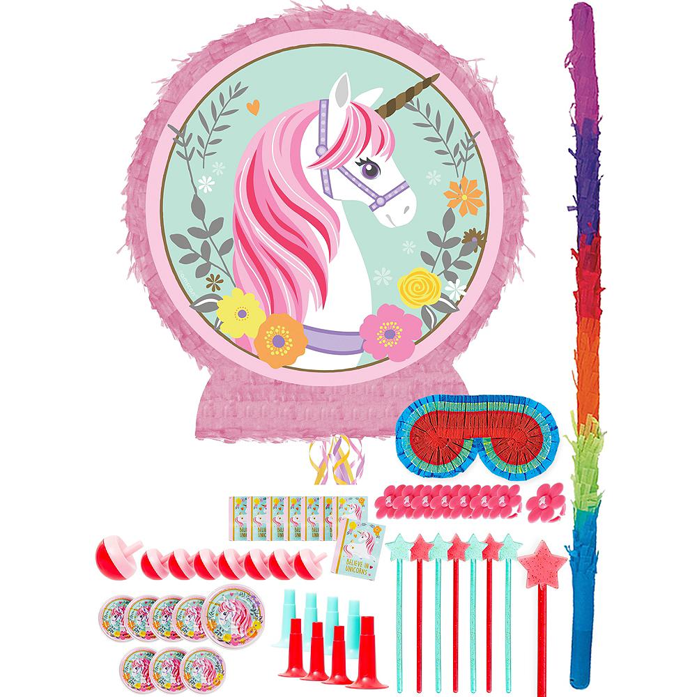 Magical Unicorn Pinata Kit with Favors Image #1