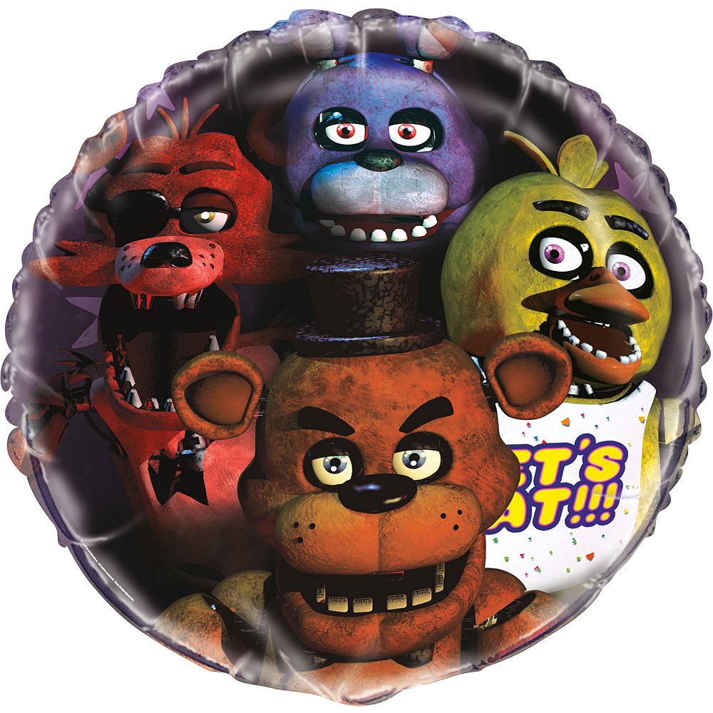 Giant Five Nights At Freddy's Balloon Image #1
