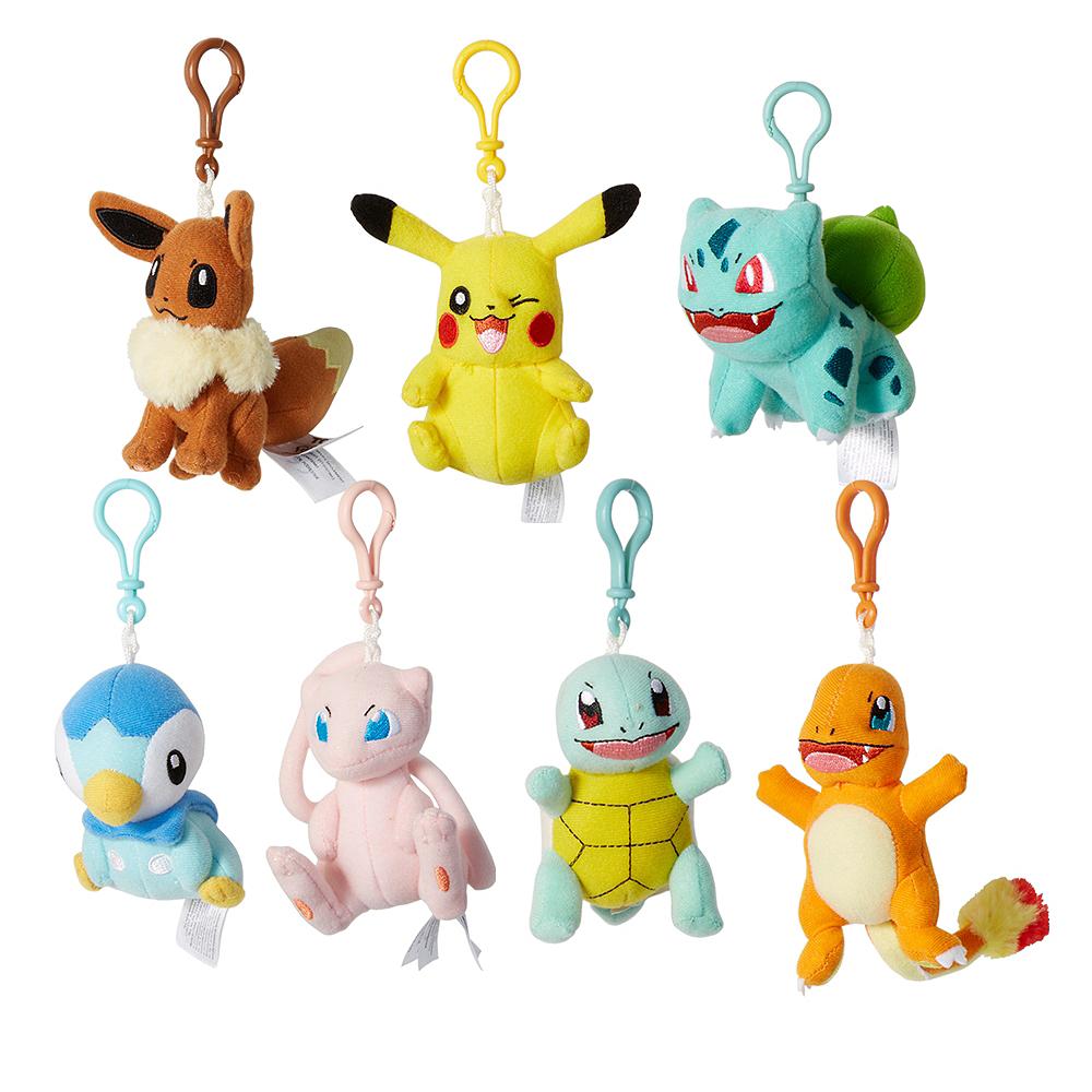 Clip-On Pokemon Plush Image #1