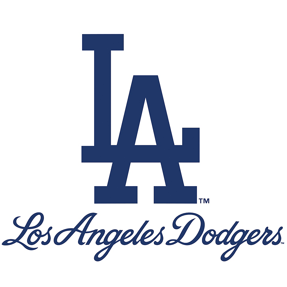 Los Angeles Dodgers Decal Image 1