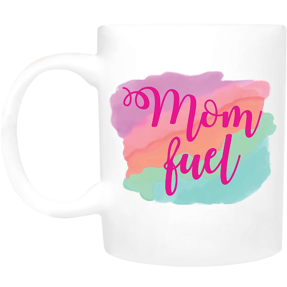 Mom Fuel Coffee Mug Image #1