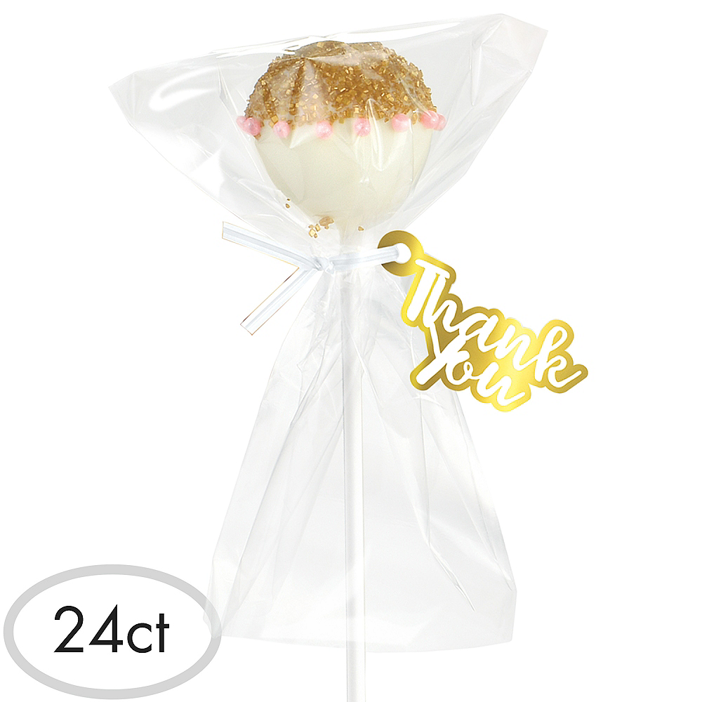 White Cake Pop Kit for 24 Image #1