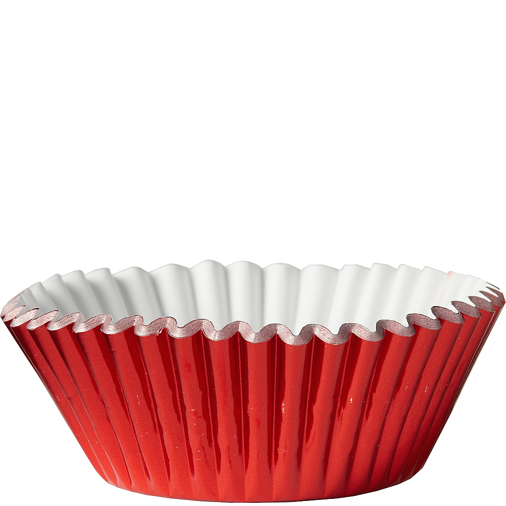 Nav Item for Metallic Red Baking Cups 24ct Image #1