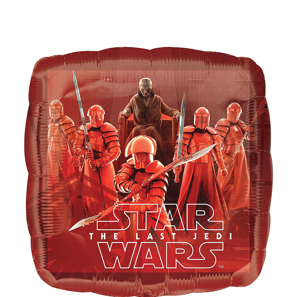 Star Wars 8 The Last Jedi Balloon, 16 1/2in Image #1