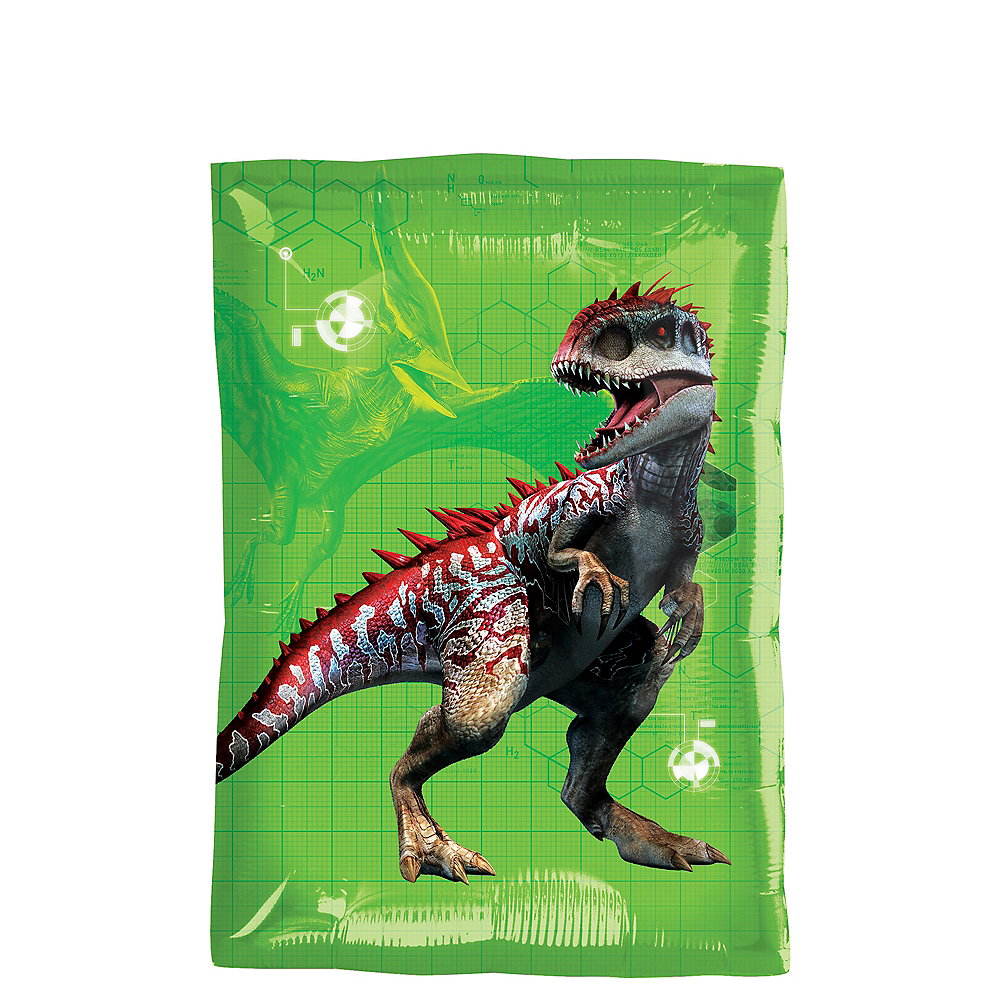 Rectangular Jurassic World Balloon 16in x 21in Image #1