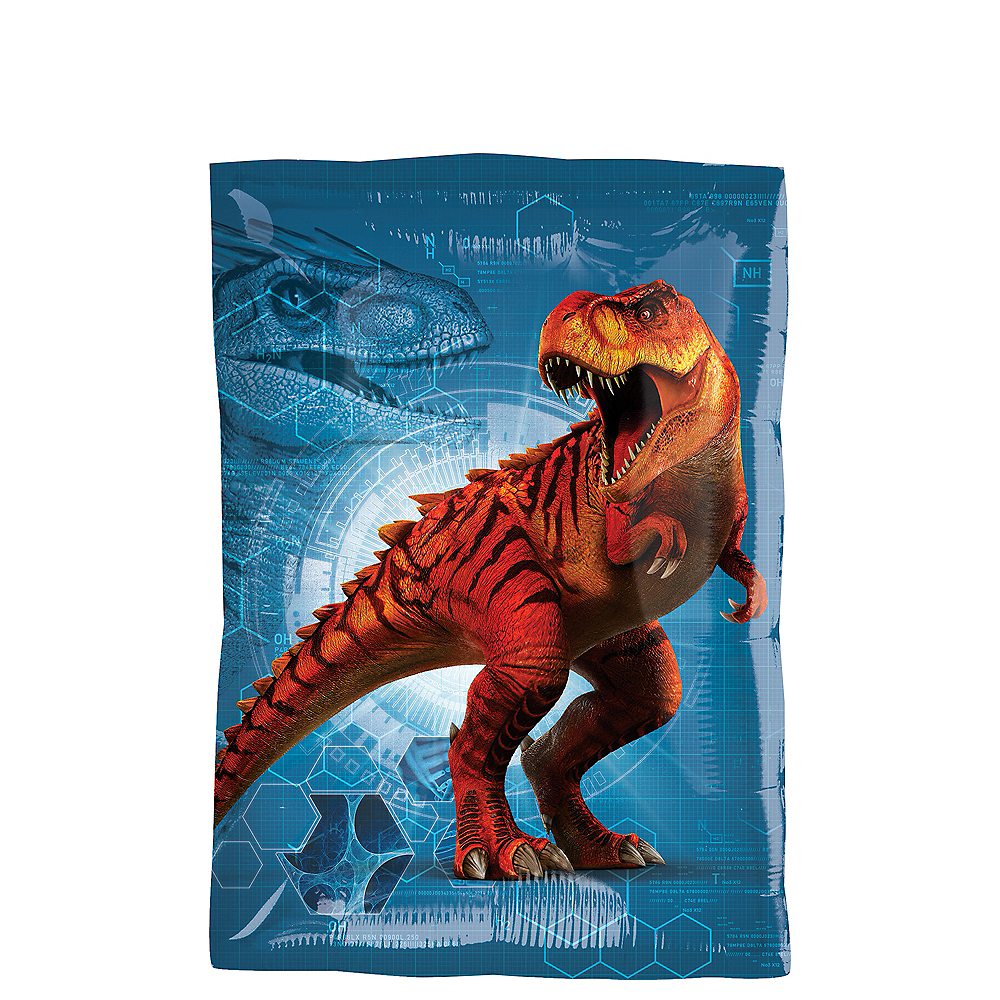 Rectangular Jurassic World Balloon 16in x 21in Image #2