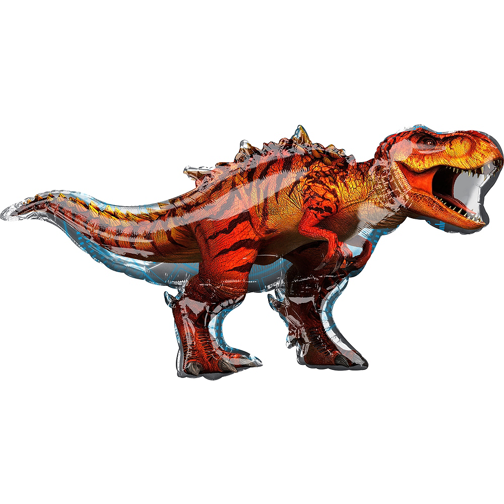Giant Indominus Rex Balloon 49in x 28in - Jurassic World Image #1