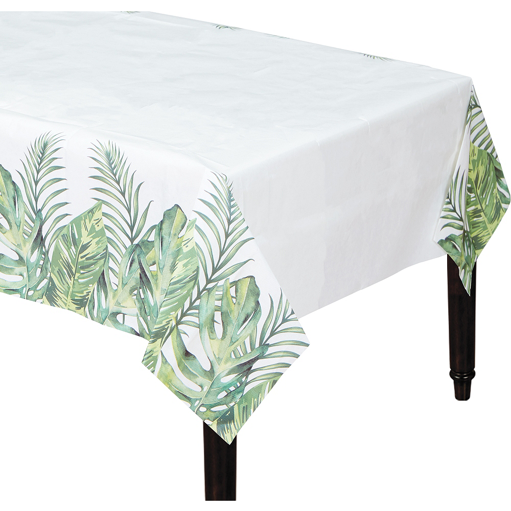 Tropical Wedding Table Cover Image #1
