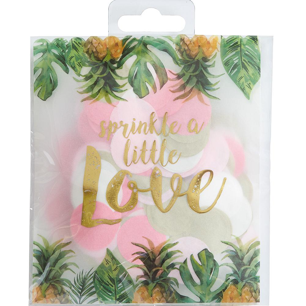 Tropical Wedding Confetti Bag Image #1